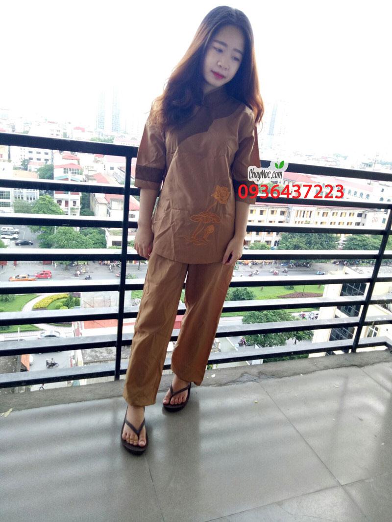 Quần áo phật tử nữ