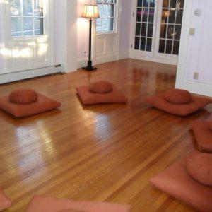 Không gian ngồi thiền hiệu quả