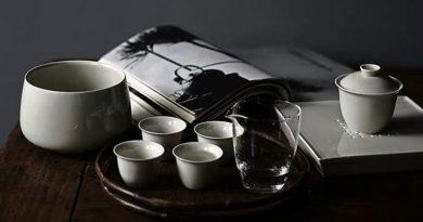 Không gian uống trà chay mộc