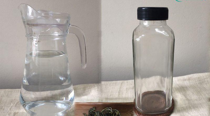 Các dụng cụ và nguyên liệu cần để pha trà lạnh